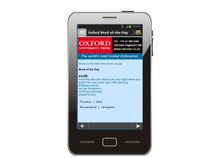 Oxford Dictionary blog post