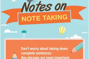 notes, note taking, lectures, tips, writing
