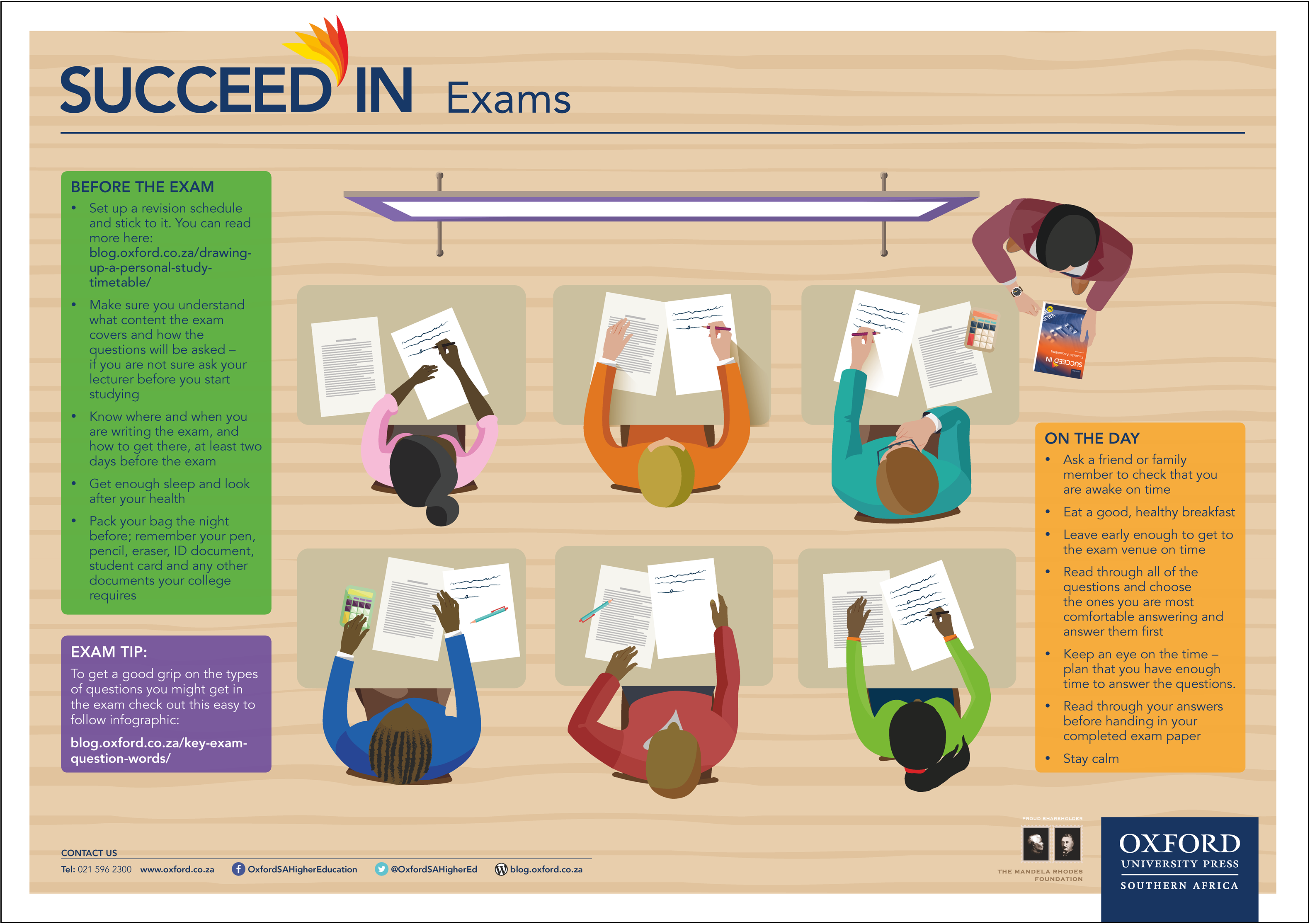 Succeed In Exams_TVET poster 3