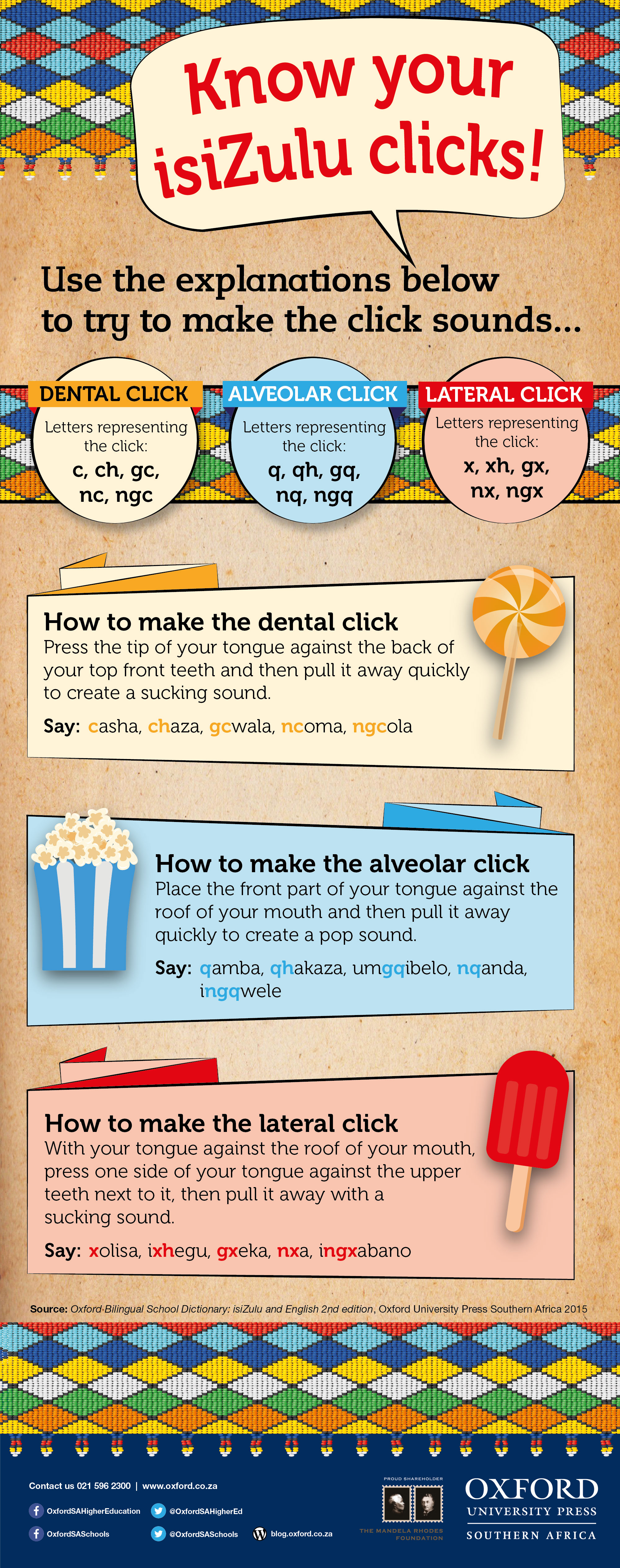 Know your isiZulu clicks